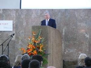 Bundespräsident in der Paulskirche (Quelle: www.stadt-frankfurt.de)